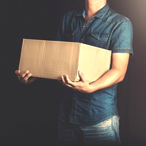 Packaging man image by Frankie's (via Shutterstock).
